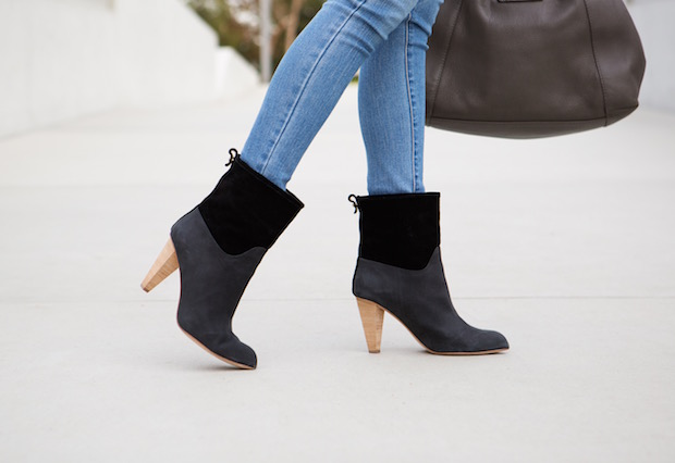 suede boots booties holiday gift the supper model