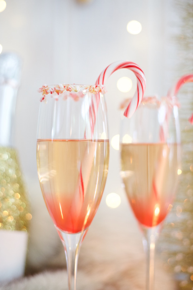 candy cane champagne cocktail the supper model holiday champagne cocktail recipe christmas cocktail recipe