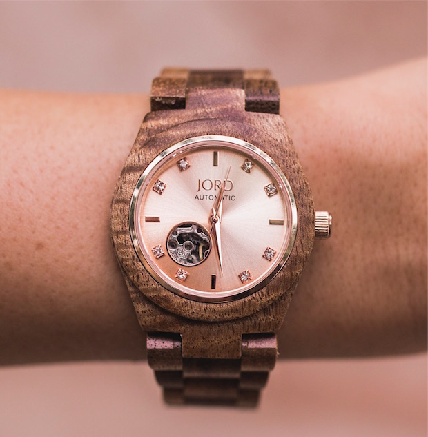 rose gold watch jord watch giveaway laced up sweater grey sweater palm beach blogger top fashion blogger the supper model darcy jones fall fashion